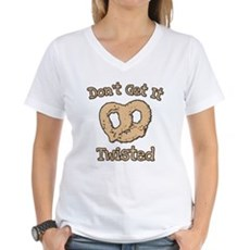 Don't Get It Twisted Womens V-Neck T-Shirt