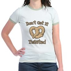 Don't Get It Twisted Jr Ringer T-Shirt