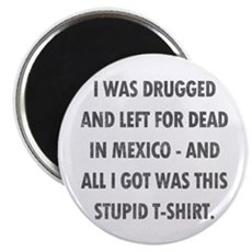 Left For Dead in Mexico Magnet