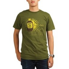 The Sun Tries to Burn Me Organic Mens Dark T-Shirt