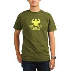 O'Doyle Rules Organic Mens Dark T-Shirt