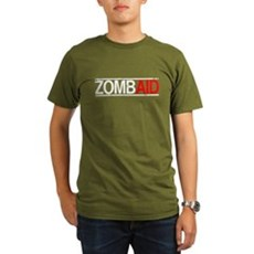 ZombAid Organic Mens Dark T-Shirt