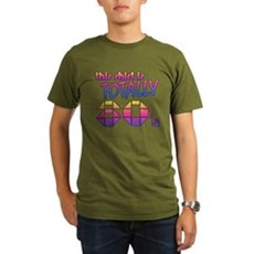 This Shirt is Totally 80's Organic Mens Dark T-Shirt