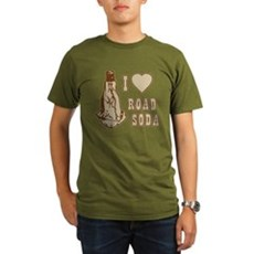 I Love Road Soda Organic Mens Dark T-Shirt
