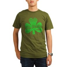 Retro St. Pat's Organic Mens Dark T-Shirt