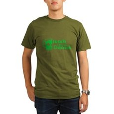 Irish I Were Drunk Organic Mens Dark T-Shirt