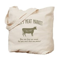 Dick's Meat Market Tote Bag