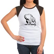 I don't do requests Womens Cap Sleeve T-Shirt