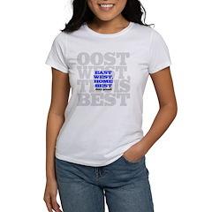 East West, Home Best Women's T-Shirt