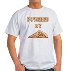 Powered By Pizza Light T-Shirt
