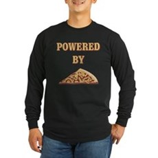 Powered By Pizza Long Sleeve T-Shirt