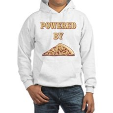 Powered By Pizza Hooded Sweatshirt