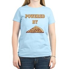 Powered By Pizza Womens Light T-Shirt