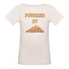 Powered By Pizza Organic Baby T-Shirt