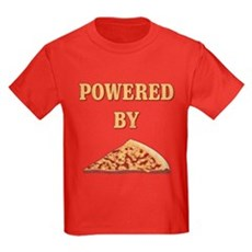 Powered By Pizza Kids T-Shirt