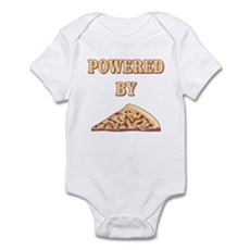 Powered By Pizza Infant Bodysuit
