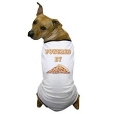 Powered By Pizza Dog T-Shirt