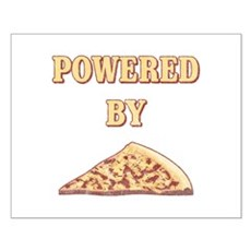 Powered By Pizza Small Poster