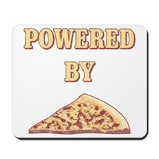 Powered By Pizza Mousepad