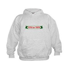 Tits for Tots Kids Hoodie
