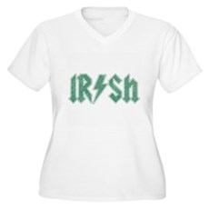 Irish Plus Size V-Neck Shirt