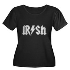 Irish Plus Size Scoop Neck Shirt