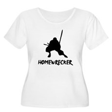Home Wrecker Plus Size Scoop Neck Shirt