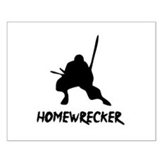 Home Wrecker Small Poster