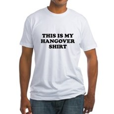 This Is My Hangover Shirt Fitted T-Shirt