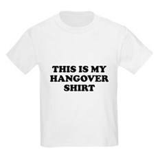 This Is My Hangover Shirt Kids Light T-Shirt