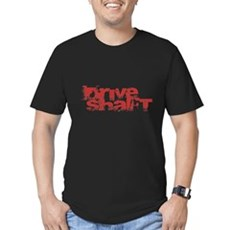 Drive SHAFT Mens Fitted Dark T-Shirt