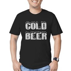 Cold Beer Mens Fitted Dark T-Shirt