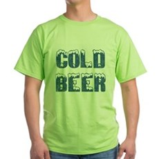 Cold Beer Green T-Shirt