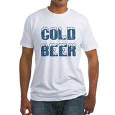 Cold Beer Fitted T-Shirt