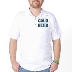 Cold Beer Golf Shirt