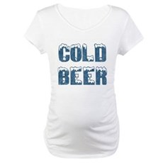 Cold Beer Maternity T-Shirt