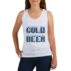 Cold Beer Womens Tank Top