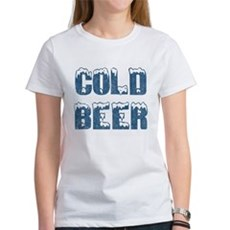 Cold Beer Womens T-Shirt