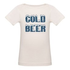 Cold Beer Organic Baby T-Shirt