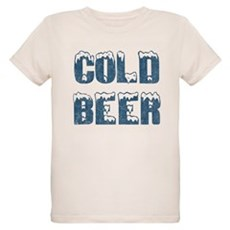 Cold Beer Organic Kids T-Shirt