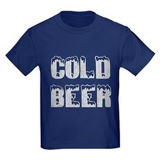 Cold Beer Kids T-Shirt