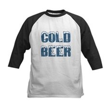 Cold Beer Kids Baseball Jersey