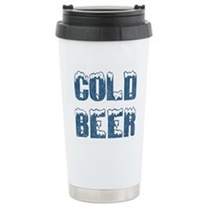 Cold Beer Stainless Steel Travel Mug