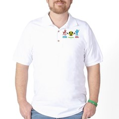 Super Powers Golf Shirt