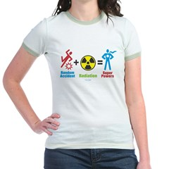 Super Powers Jr. Ringer T-Shirt