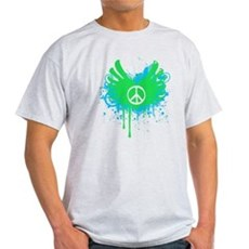 Peace and Love Light T-Shirt