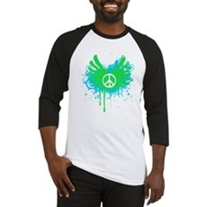 Peace and Love Baseball Jersey