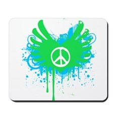 Peace and Love Mousepad