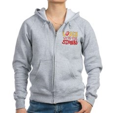 Laugh With The Sinners Womens Zip Hoodie