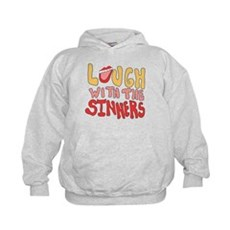 Laugh With The Sinners Kids Hoodie